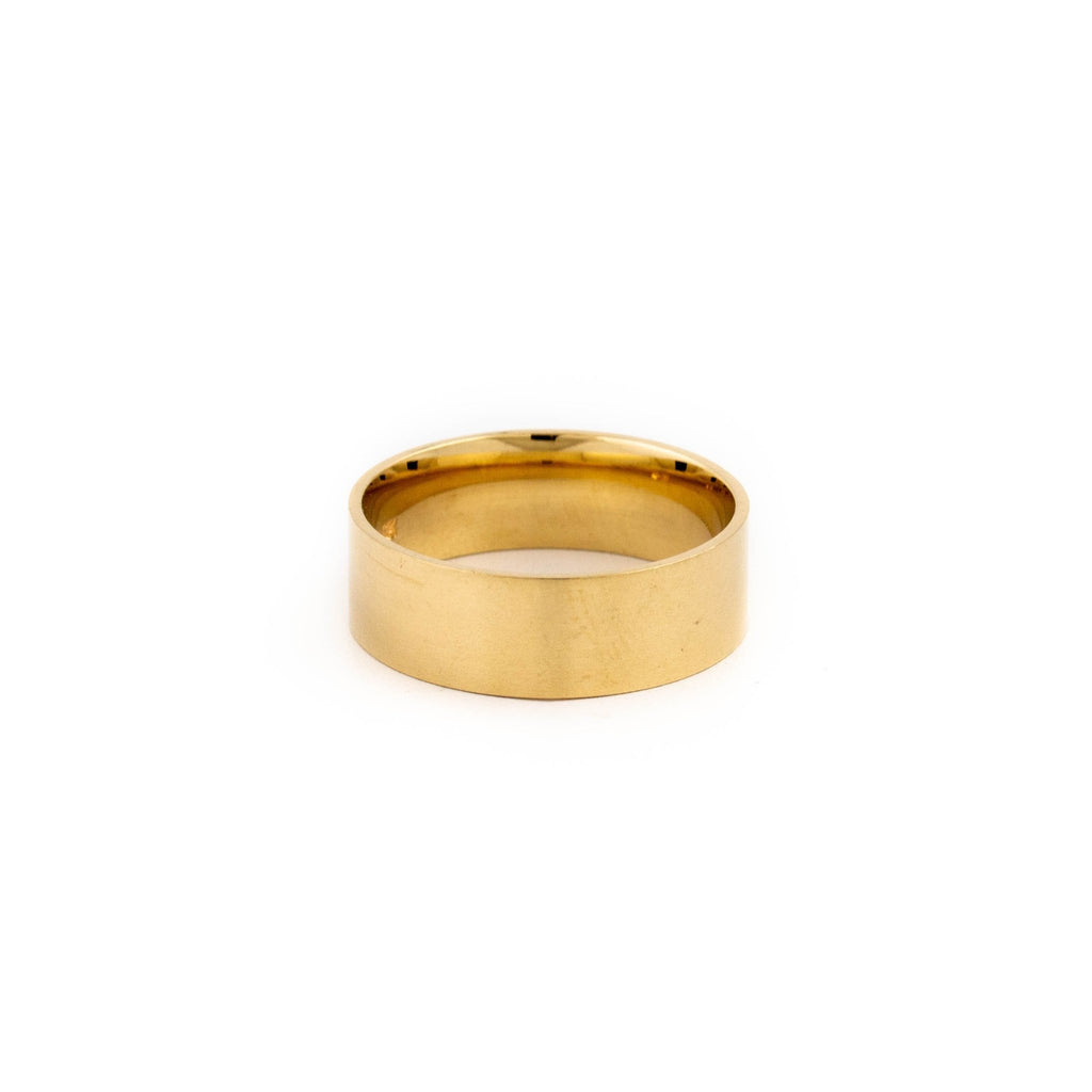 10KT Gold Tungsen Band - Kingdom Jewelry