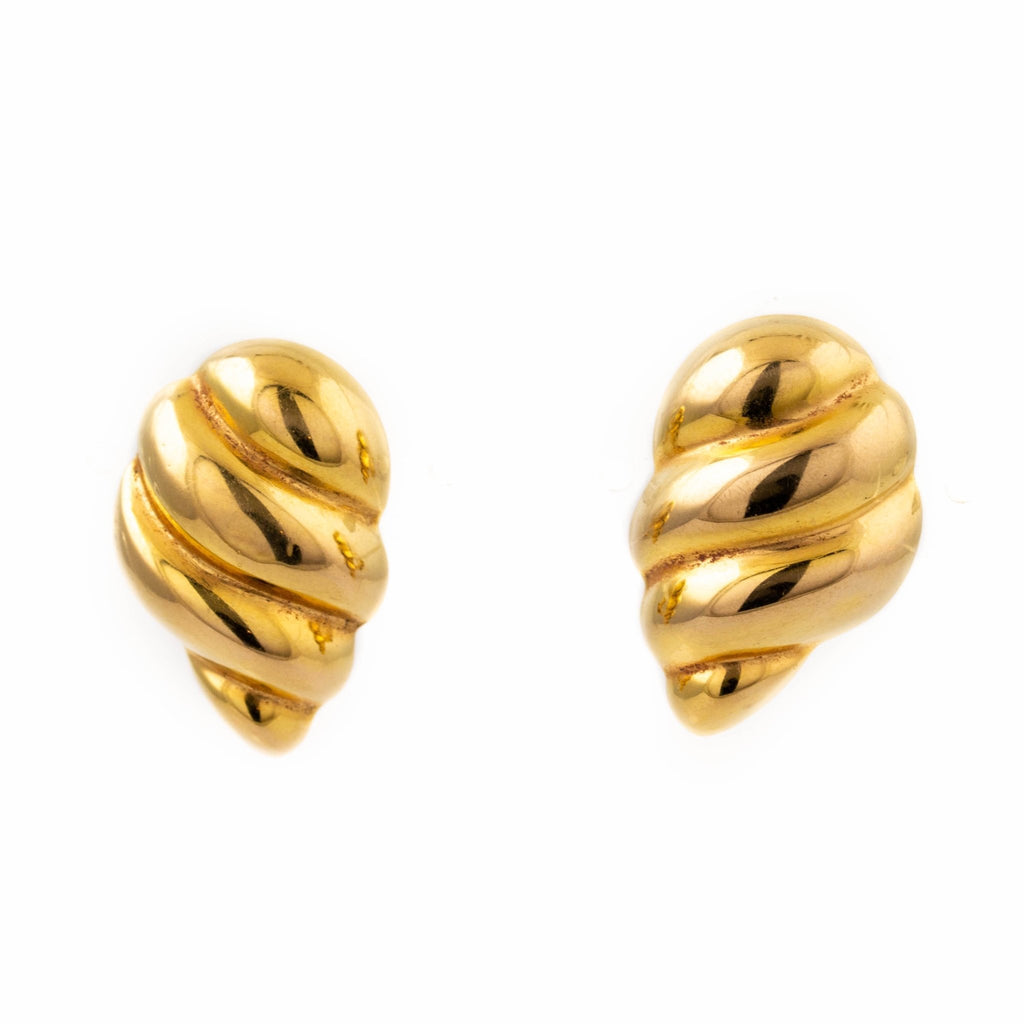 14kt Gold Cornucopia Earrings - Kingdom Jewelry