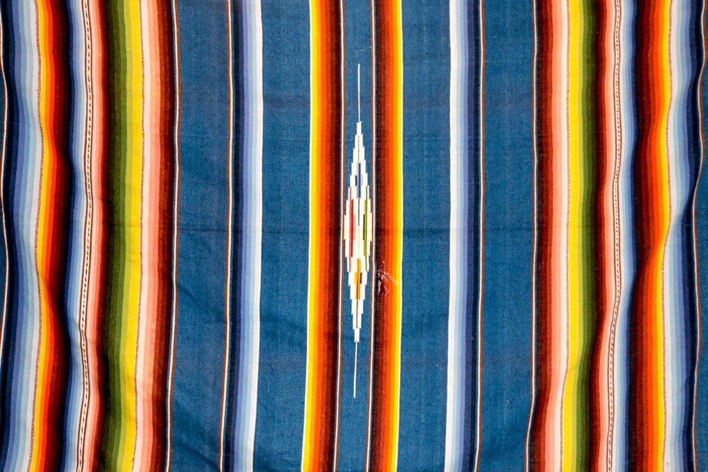 1950s Vintage Serape Blanket - Kingdom Jewelry