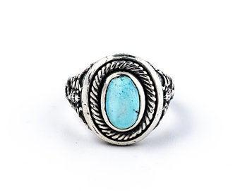 "The ""Echoes of Egypt"" Scorpion Ring w/ Lavender Turquoise"