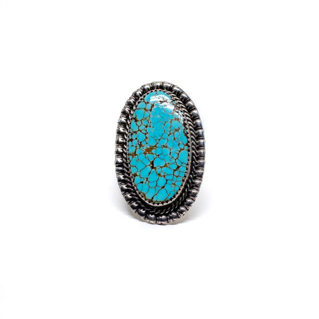 #8 Turquoise Navajo Ring - Kingdom Jewelry