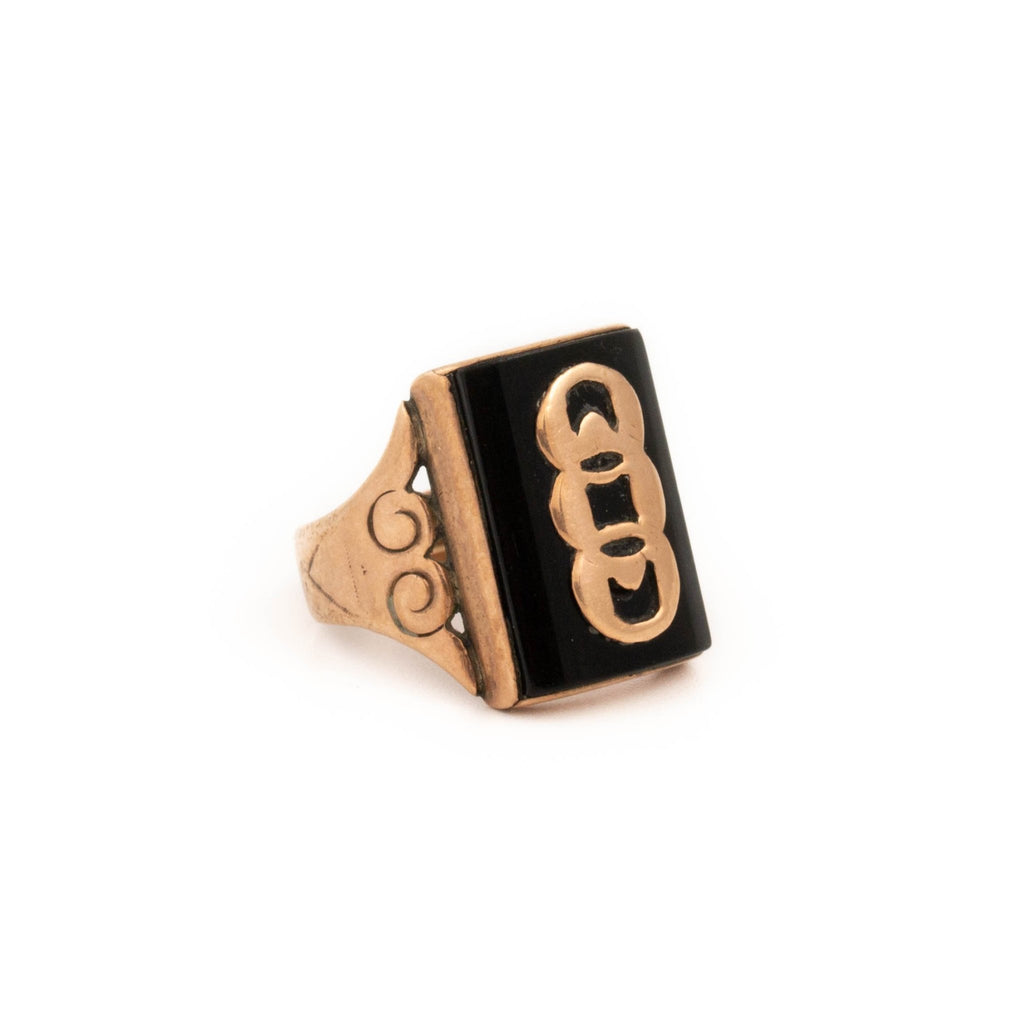 "9kt Gold ""OOO"" Ring - Kingdom Jewelry"