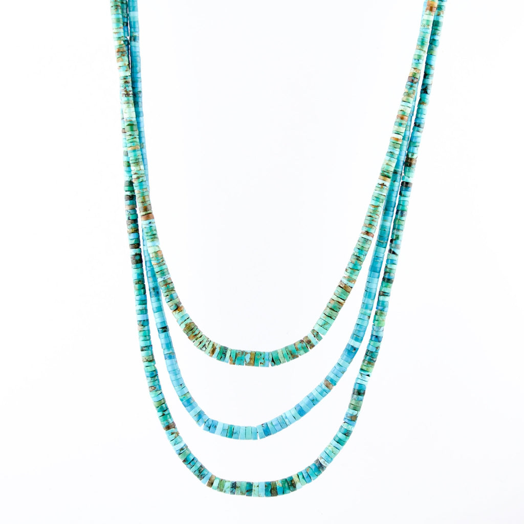 Andrew Lovato Heishi Necklace - Kingdom Jewelry