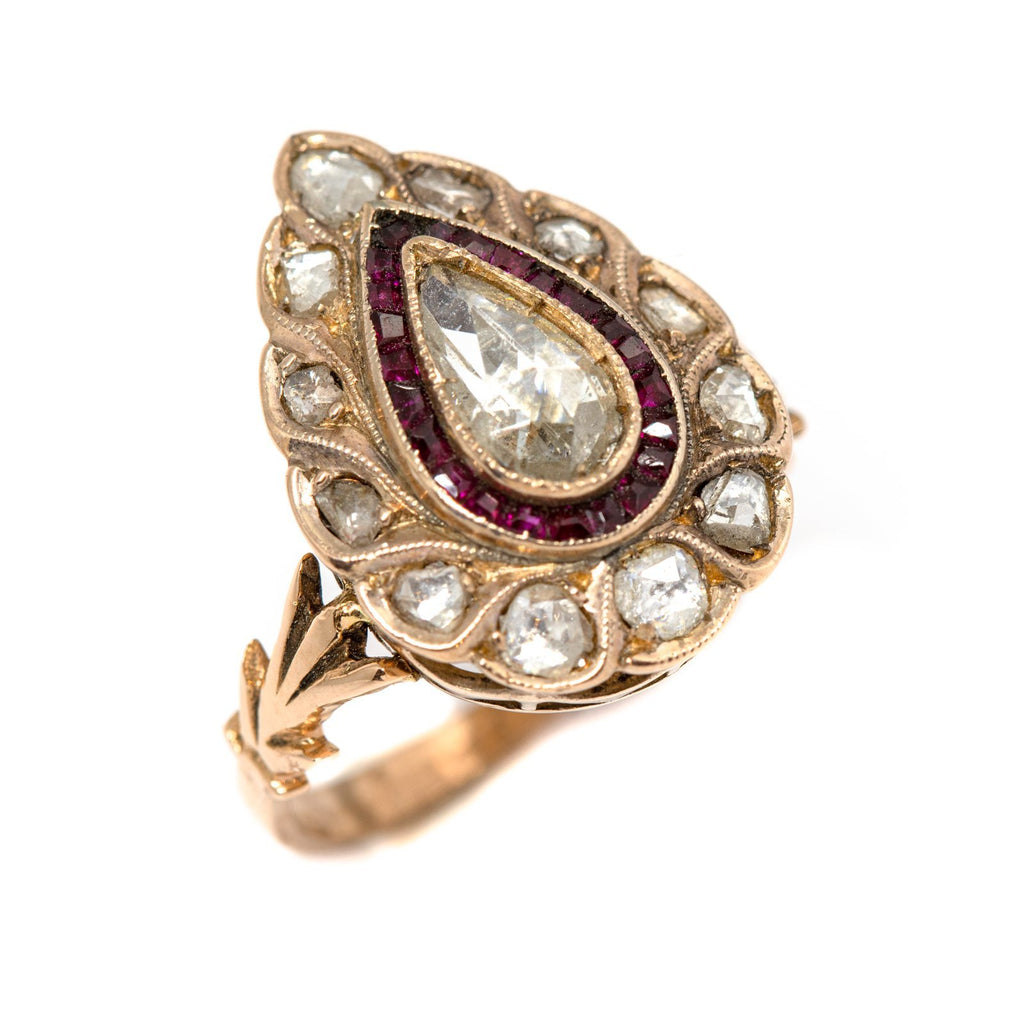 Antique Droplet Ring - Kingdom Jewelry