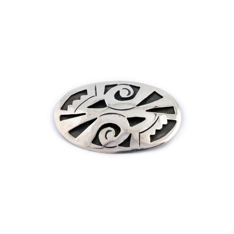 Artistic Mexican Brooch Pin - Kingdom Jewelry