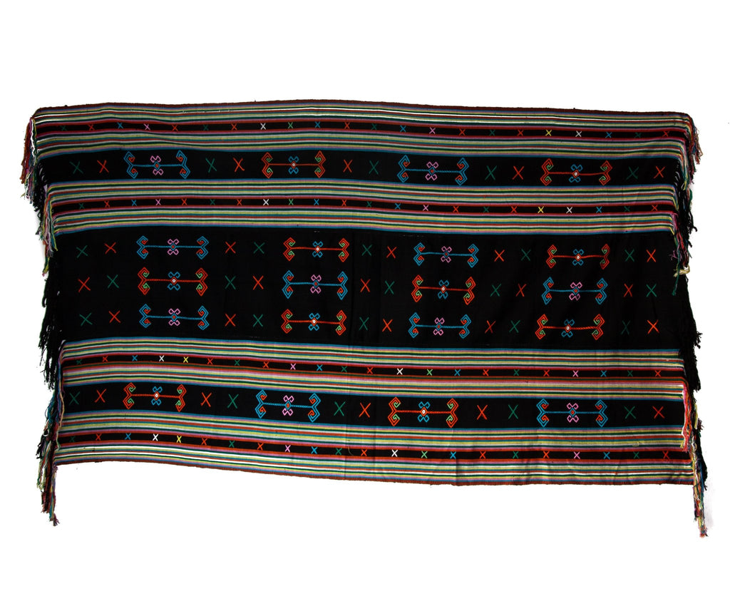Black Neon Timor Textile - Kingdom Jewelry