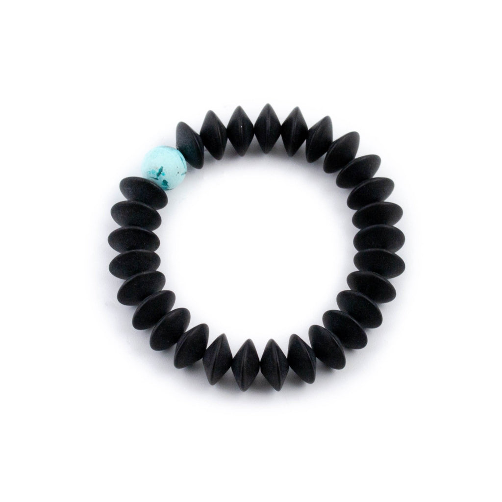 Black Onyx Discus Bracelet - Kingdom Jewelry
