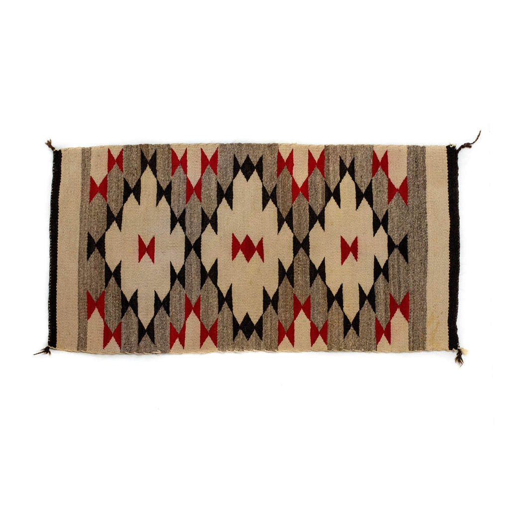 Black Widow Navajo Rug - Kingdom Jewelry
