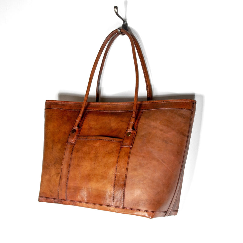 Butterscotch Leather Borneo Sidebag - Kingdom Jewelry