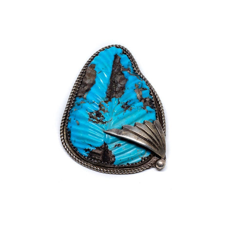 1950's Blue Arrow Pin