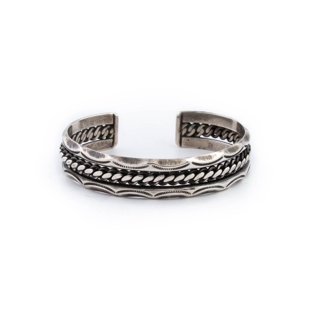 Chain Link Detail Cuff - Kingdom Jewelry