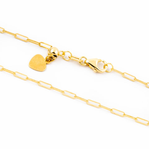 10kt Gold Rope Chain