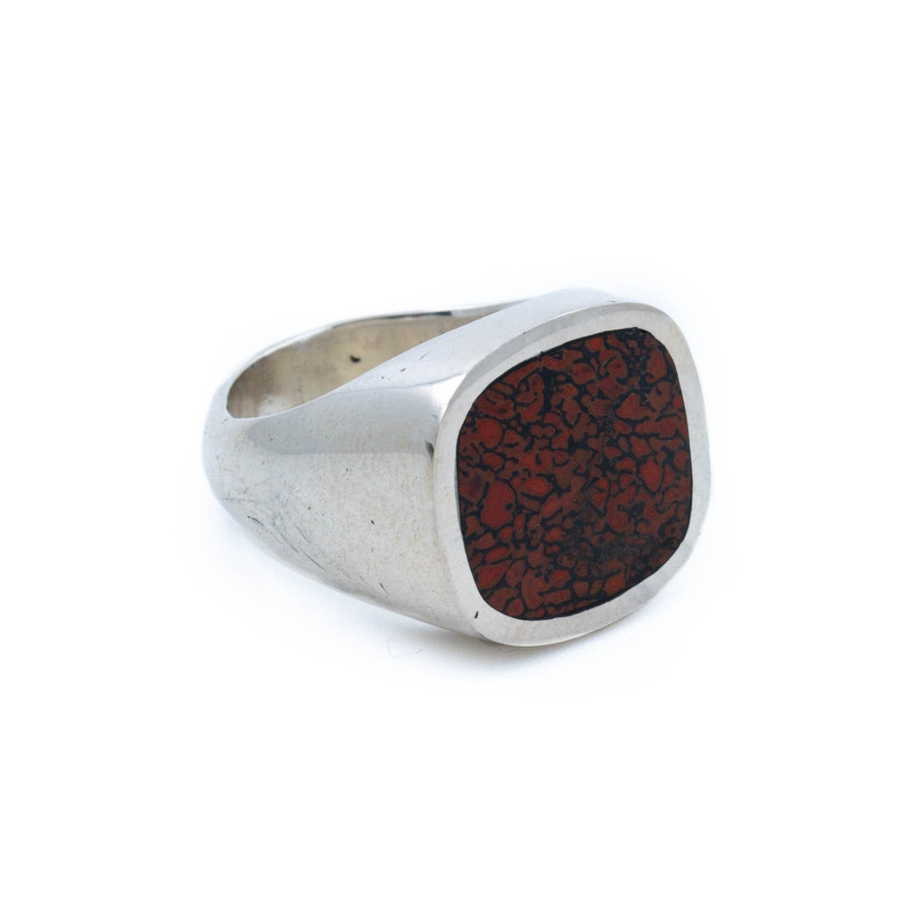 Dinosaur Bone Signet Ring - Kingdom Jewelry