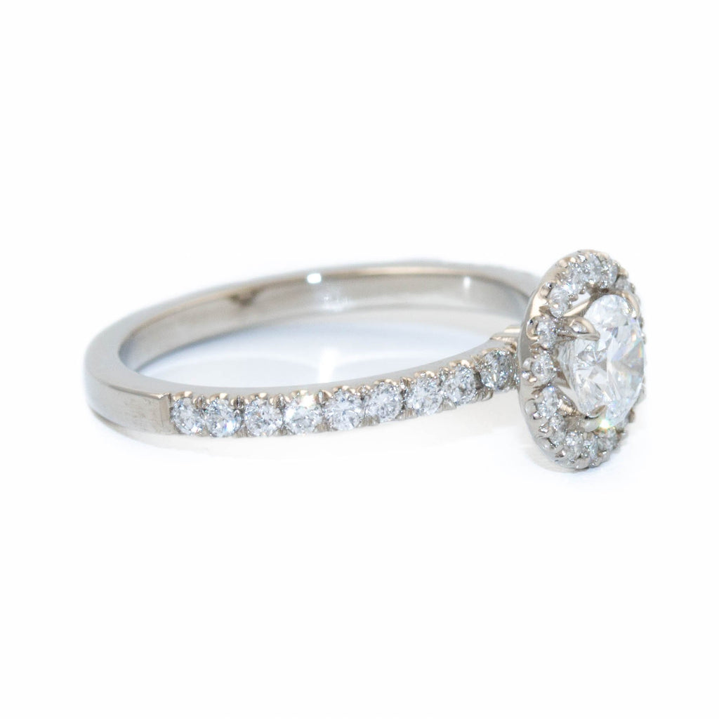 Elegant Pave Diamond Ring - Kingdom Jewelry