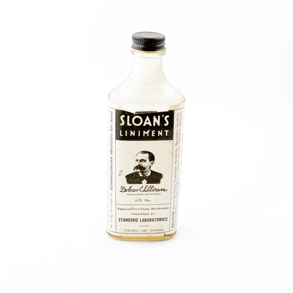 Sloans Apothecary Bottle