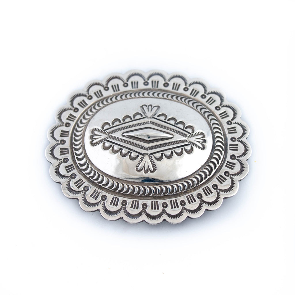 Gorgeous Navajo Concho Buckle - Kingdom Jewelry