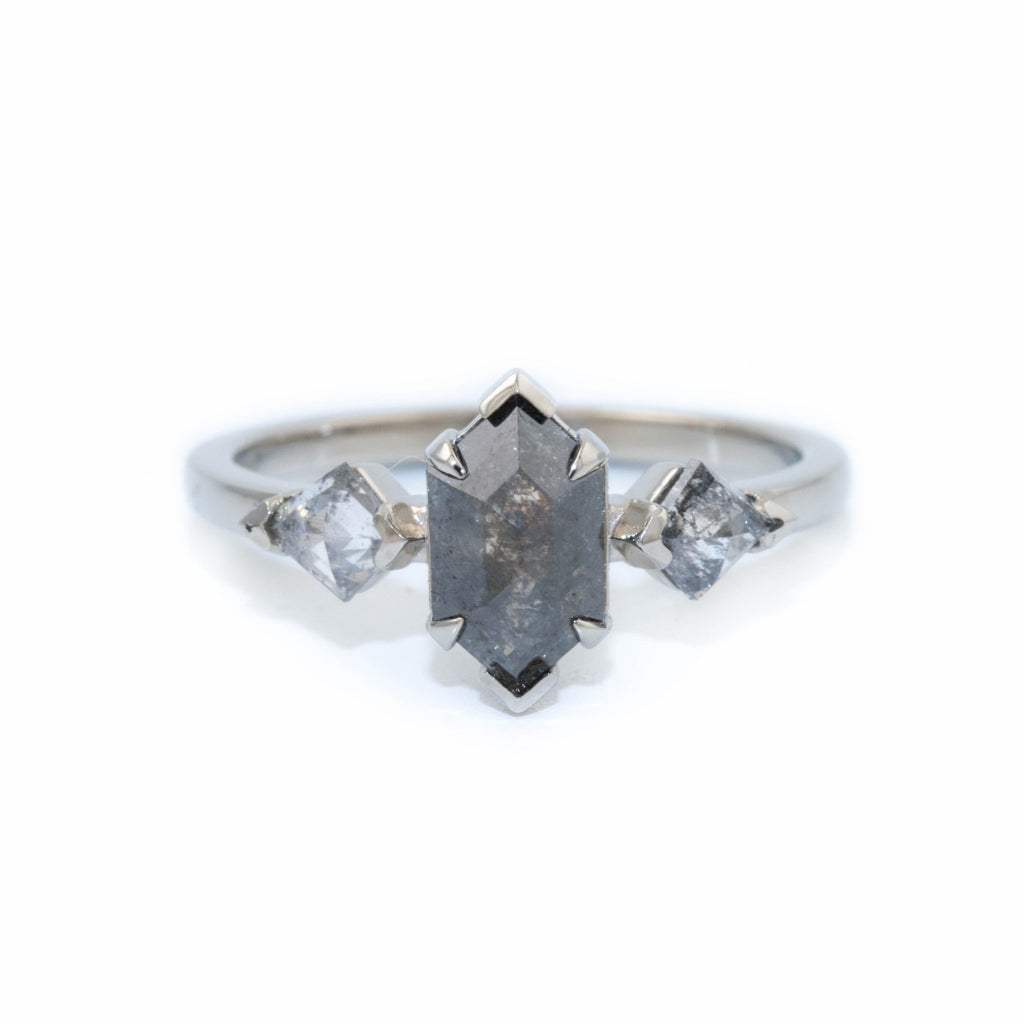 Hex Pepper Diamond Ring - Kingdom Jewelry