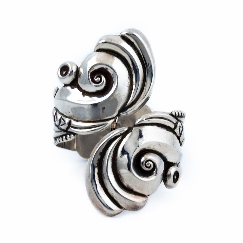 Hypnotic Taxco Clamper Cuff - Kingdom Jewelry