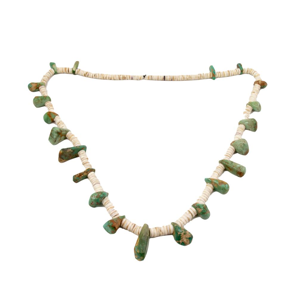 Impressive Nugget Heishi Necklace - Kingdom Jewelry