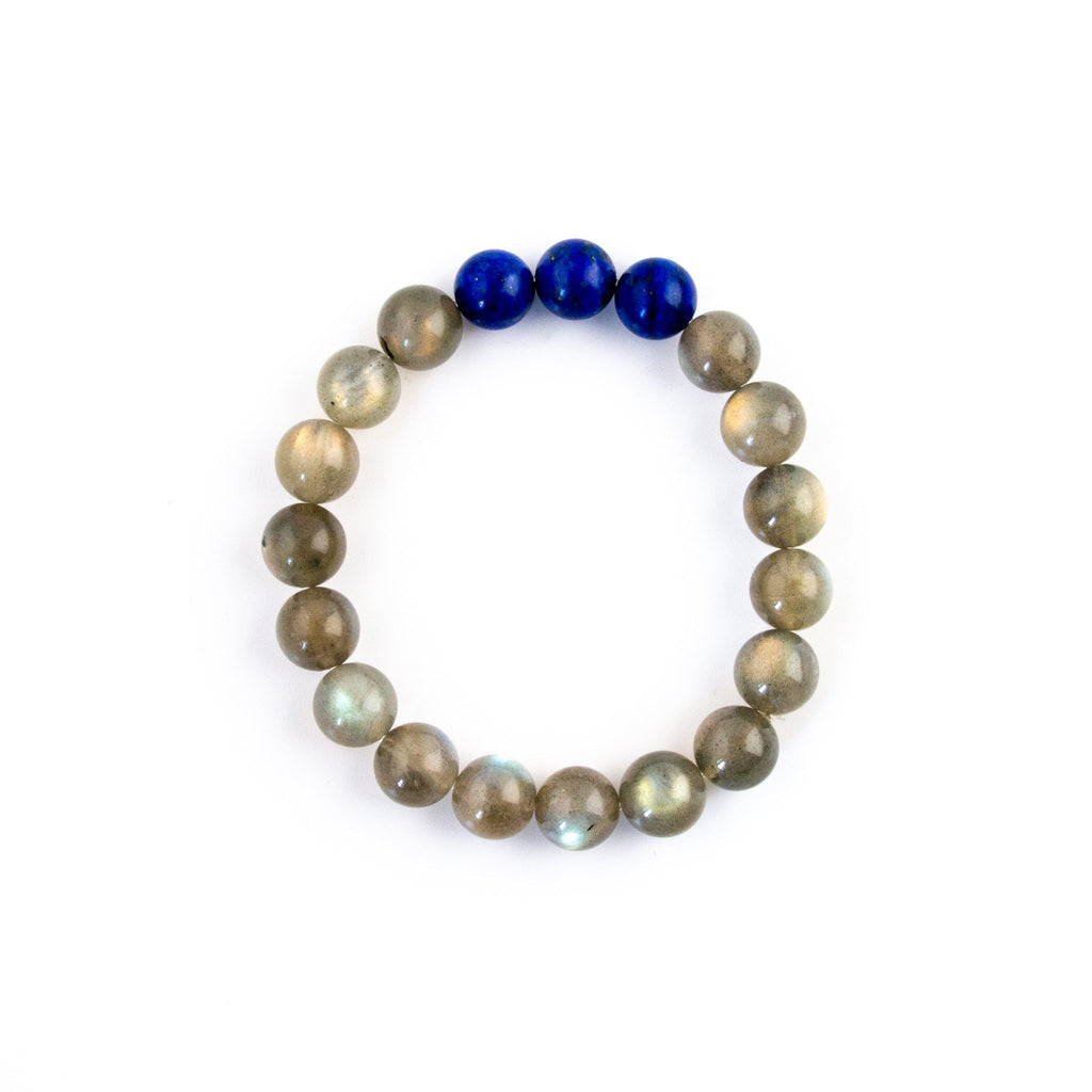 Labradorite Beaded Bracelet - Kingdom Jewelry