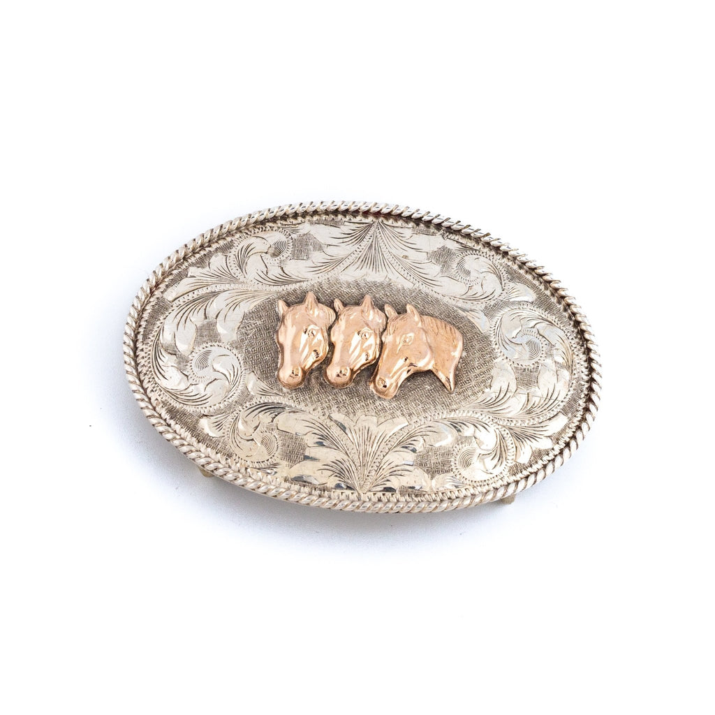 Mister Ed Americana Belt Buckle - Kingdom Jewelry