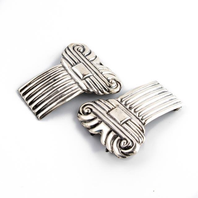 Modernist Taxco Belt Buckle - Kingdom Jewelry