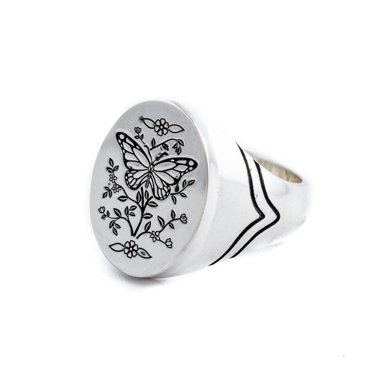 Monarch Signet Ring - Kingdom Jewelry