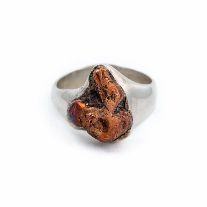 Natural Copper Nugget Ring - Kingdom Jewelry
