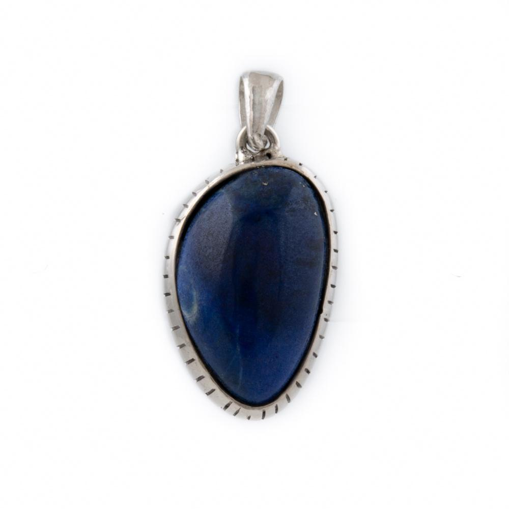 Natural Lapis Lazuli Pendant - Kingdom Jewelry