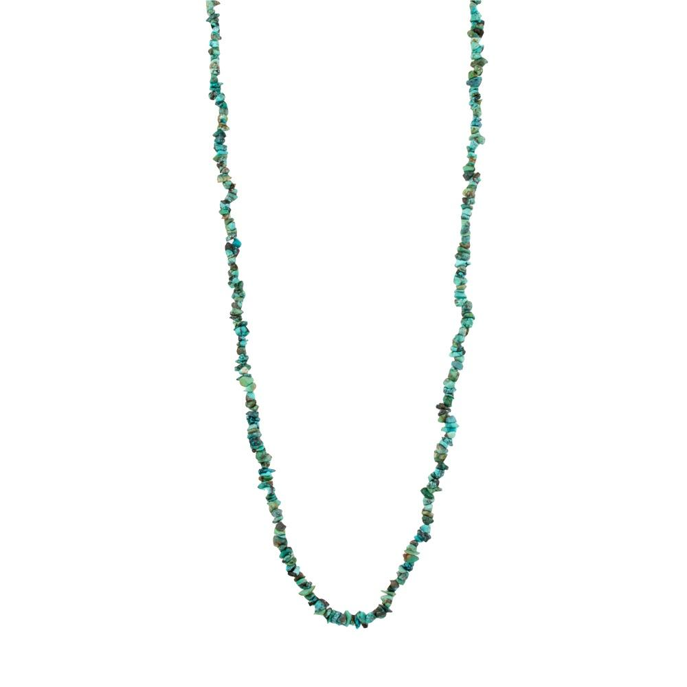 Nugget Turquoise Beaded Necklace - Kingdom Jewelry