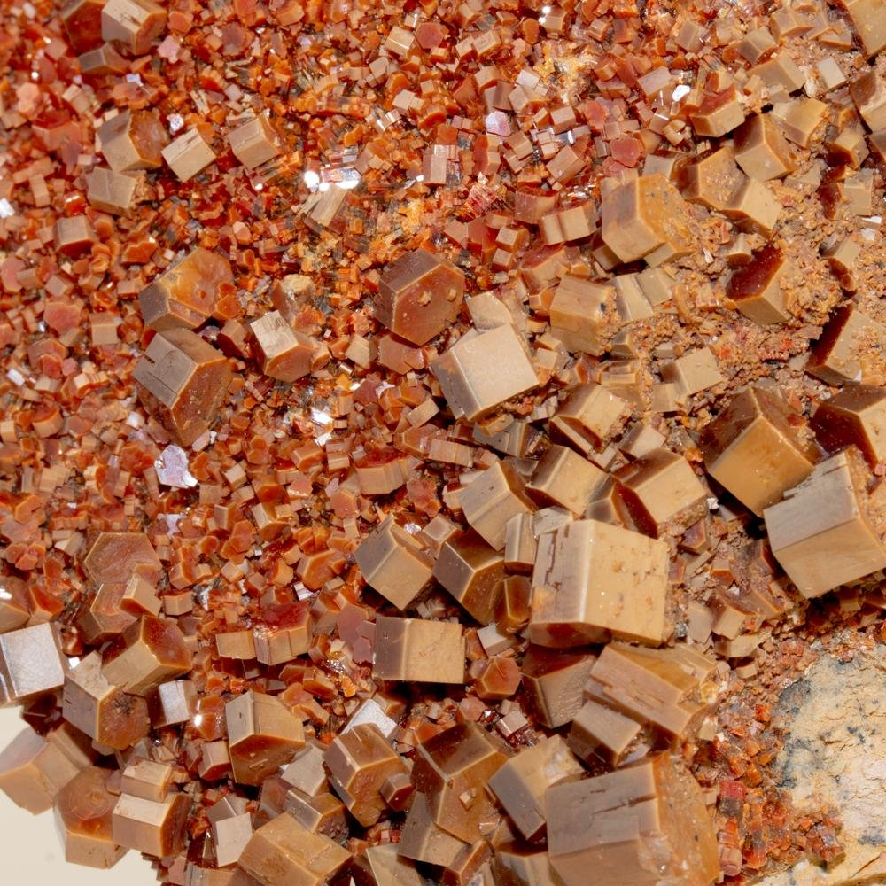 Otherworldly Vanadinite Mineral Specimen - Kingdom Jewelry