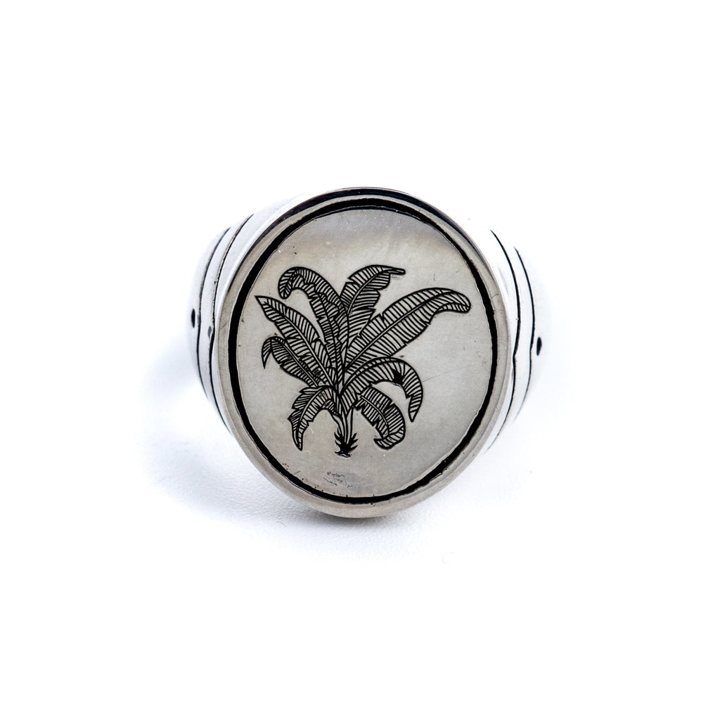 Palm Springs Signet Ring - Kingdom Jewelry