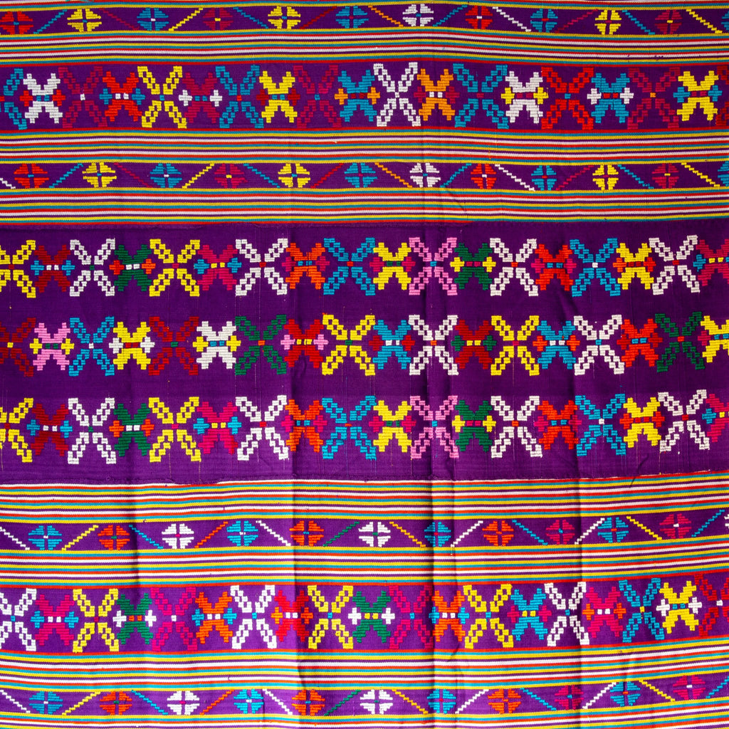 Purple Decorative Timor Textile - Kingdom Jewelry