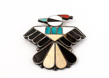 Artistic Mexican Brooch Pin