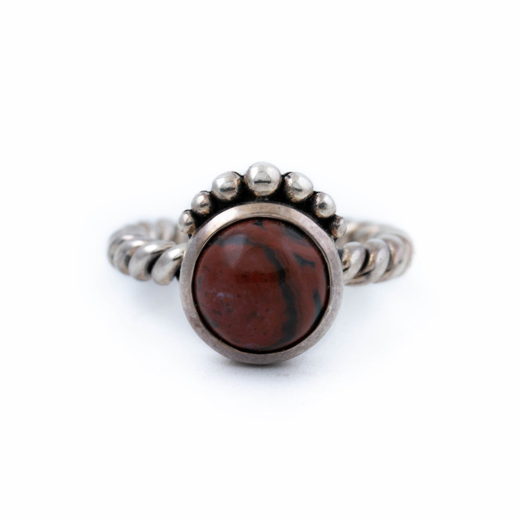 Red Ocean Empire Ring - Kingdom Jewelry