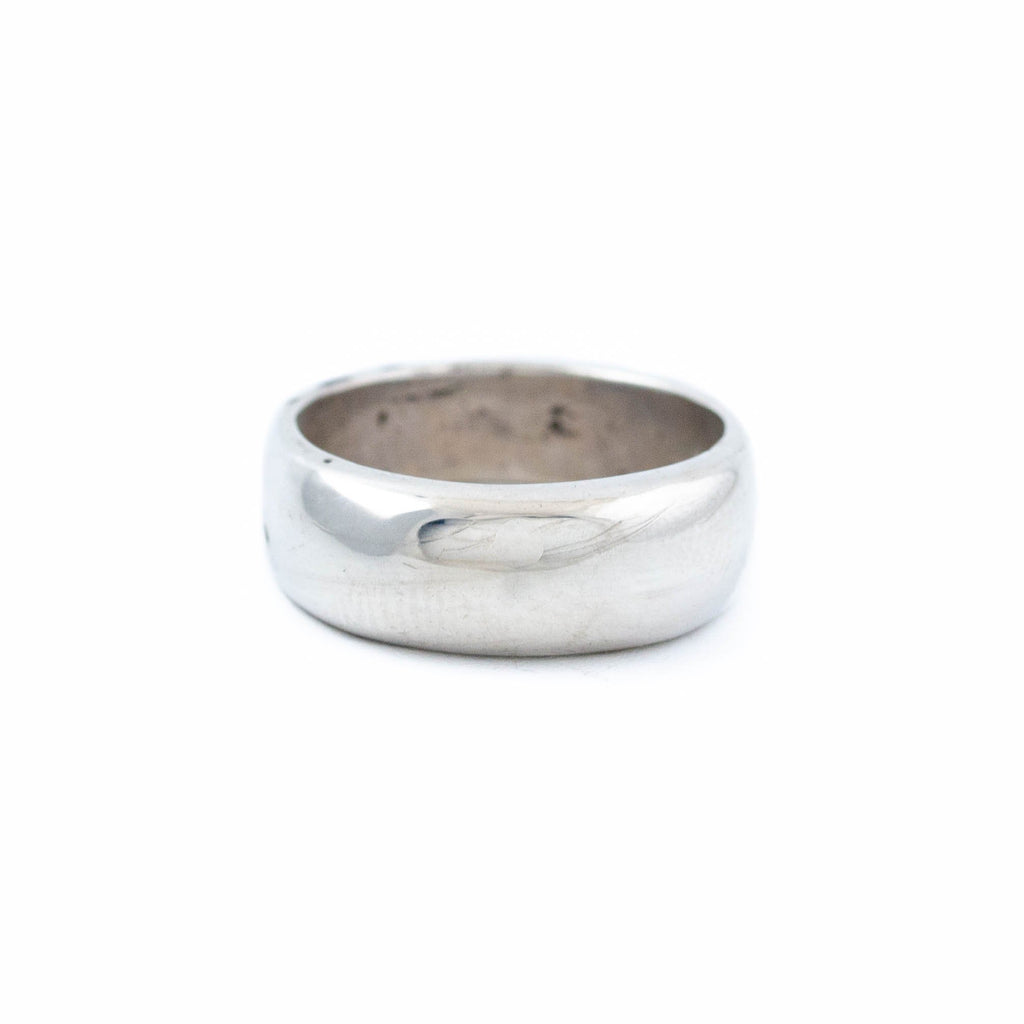 Rounded Square-Cut Silver Ring - Kingdom Jewelry