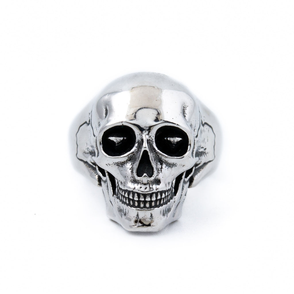 Silver Death Skull Ring - Kingdom Jewelry