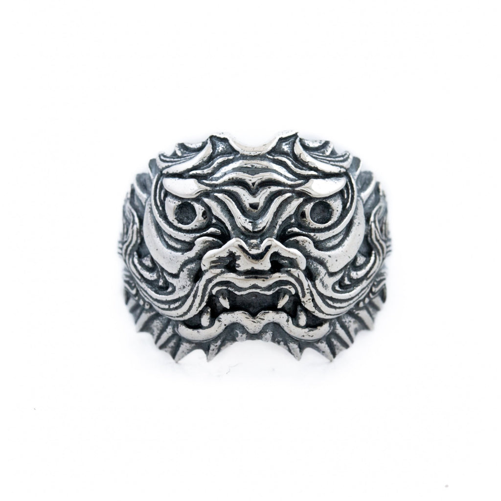 "Silver ""ShenLong"" Dragon Ring - Kingdom Jewelry"