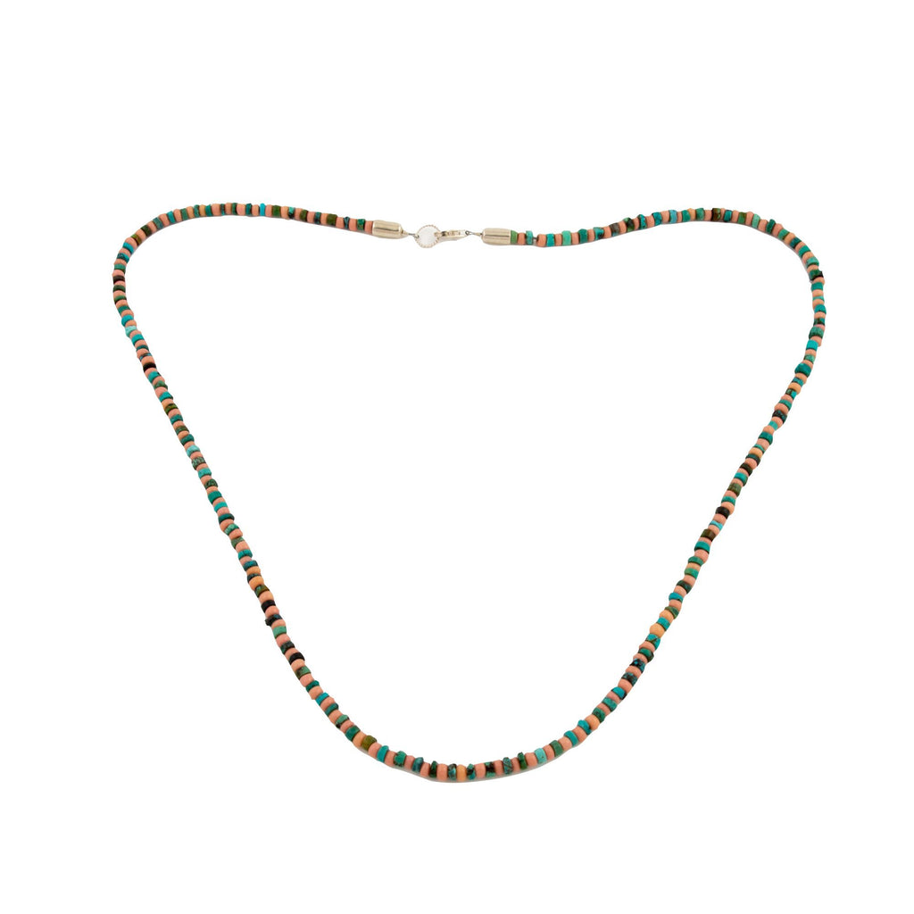 Staggered Java X Turquoise Necklace - Kingdom Jewelry