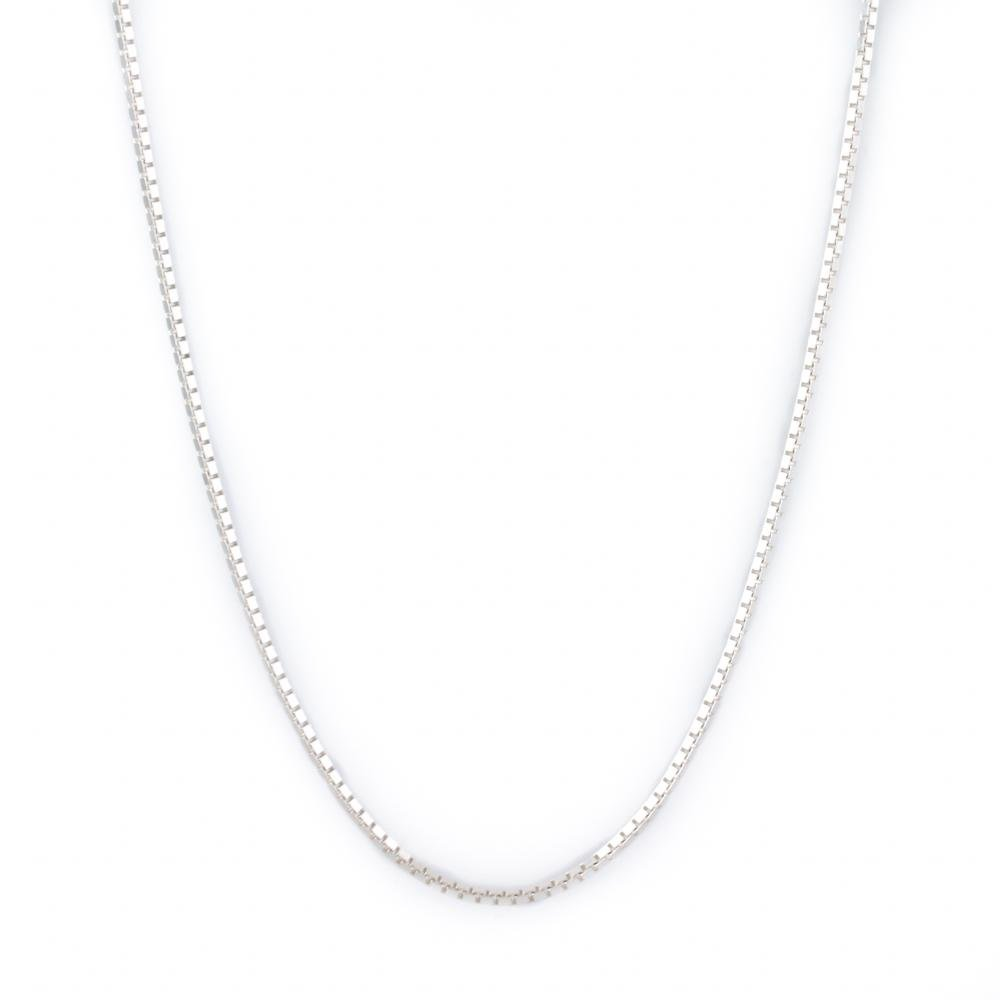Sterling Silver Box Chain - Kingdom Jewelry