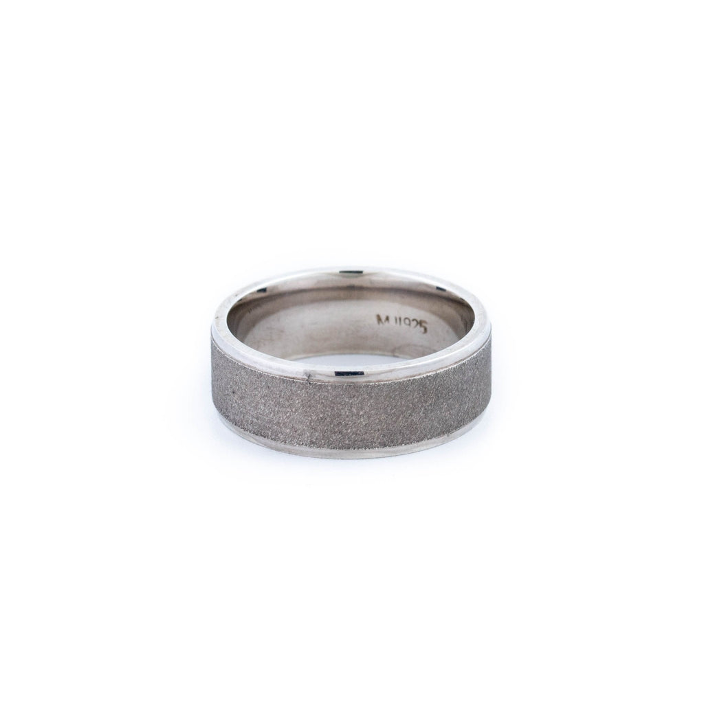 Textured Two Tone Band - Kingdom Jewelry