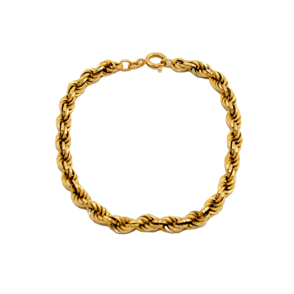 Thick Rope Chain Bracelet - Kingdom Jewelry