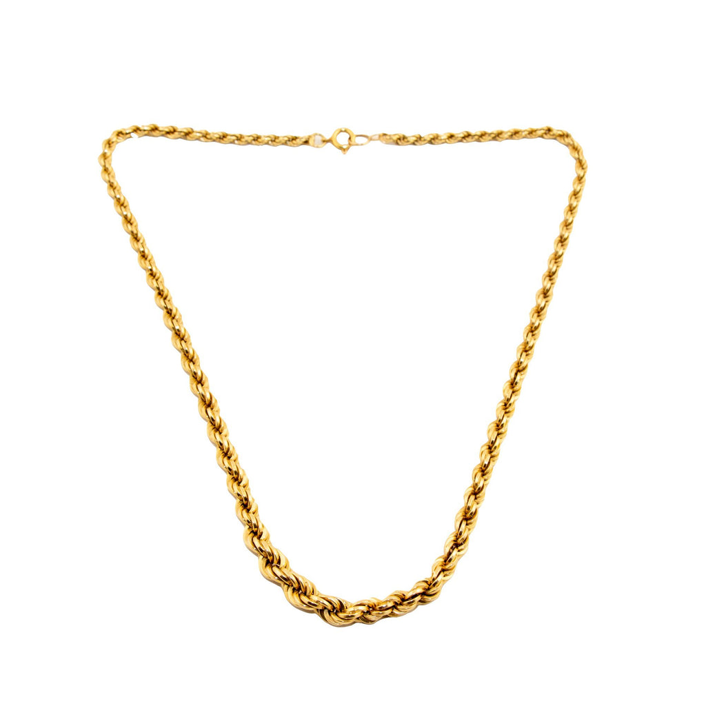 Thick Rope Chain Necklace - Kingdom Jewelry