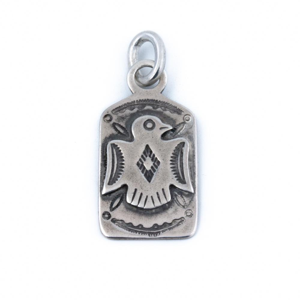 Thunderbird Navajo Dog-Tag Pendant - Kingdom Jewelry