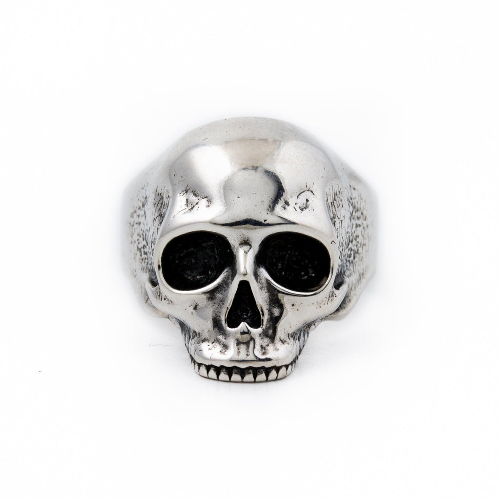 Unhinged Silver Skull Ring - Kingdom Jewelry