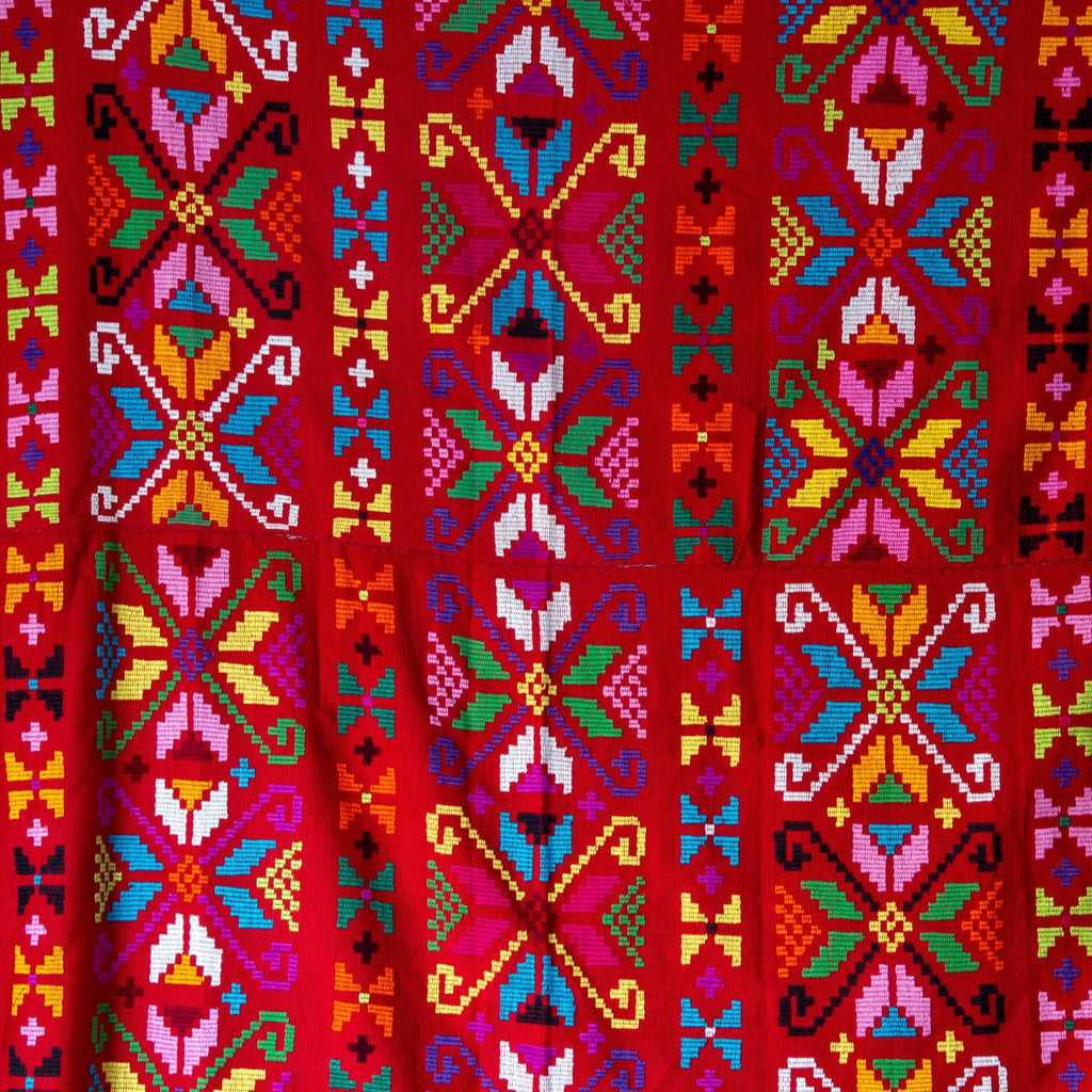 Vibrant Red Timor Textile - Kingdom Jewelry