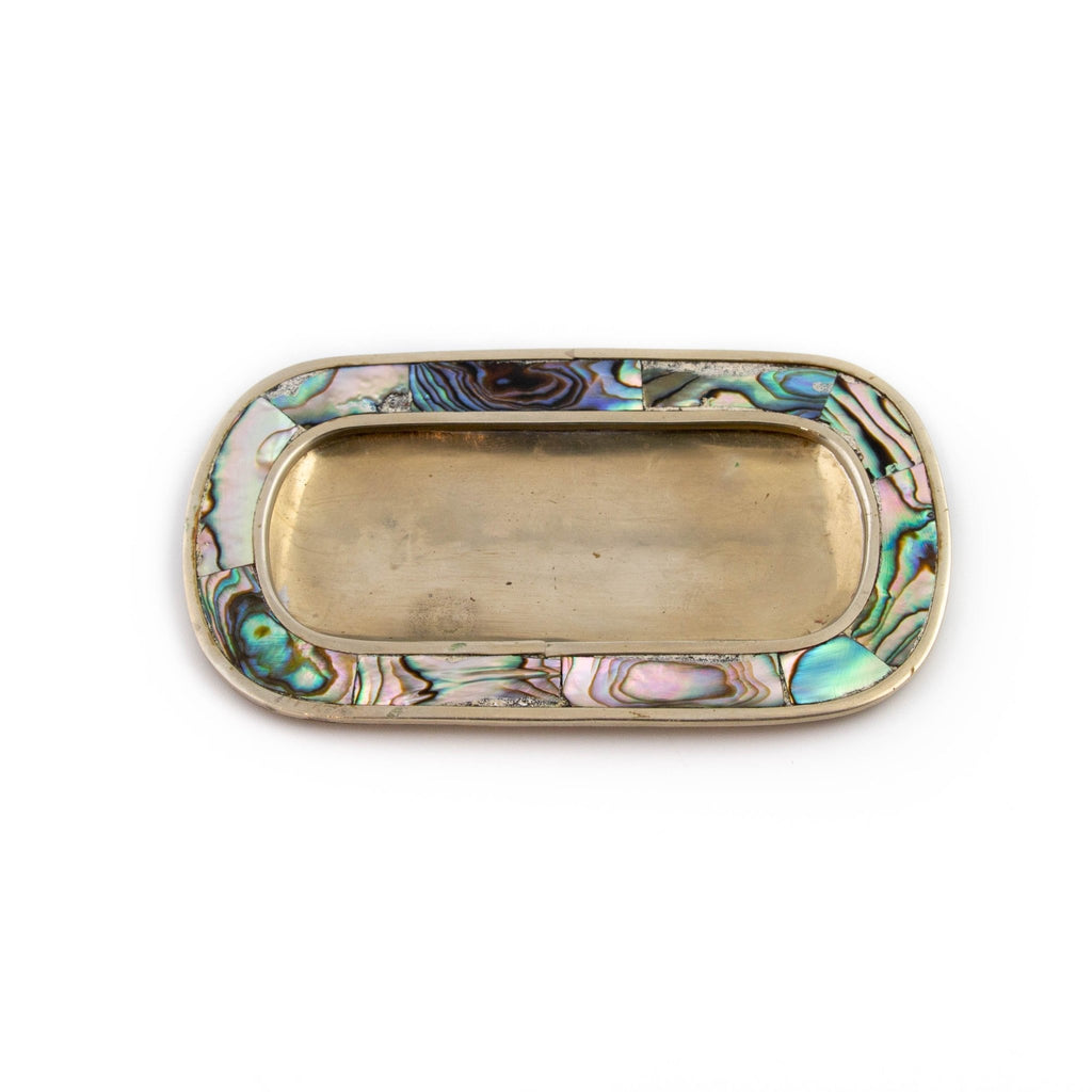 Vintage Mexican Abalone Dish - Kingdom Jewelry
