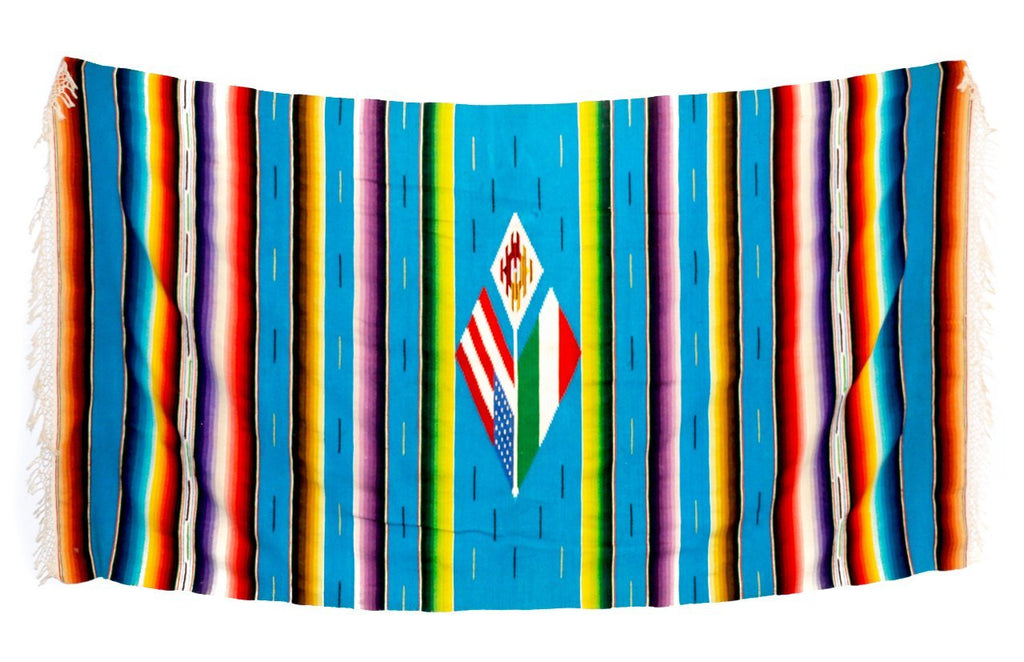 Vintage USA Serape Blanket - Kingdom Jewelry