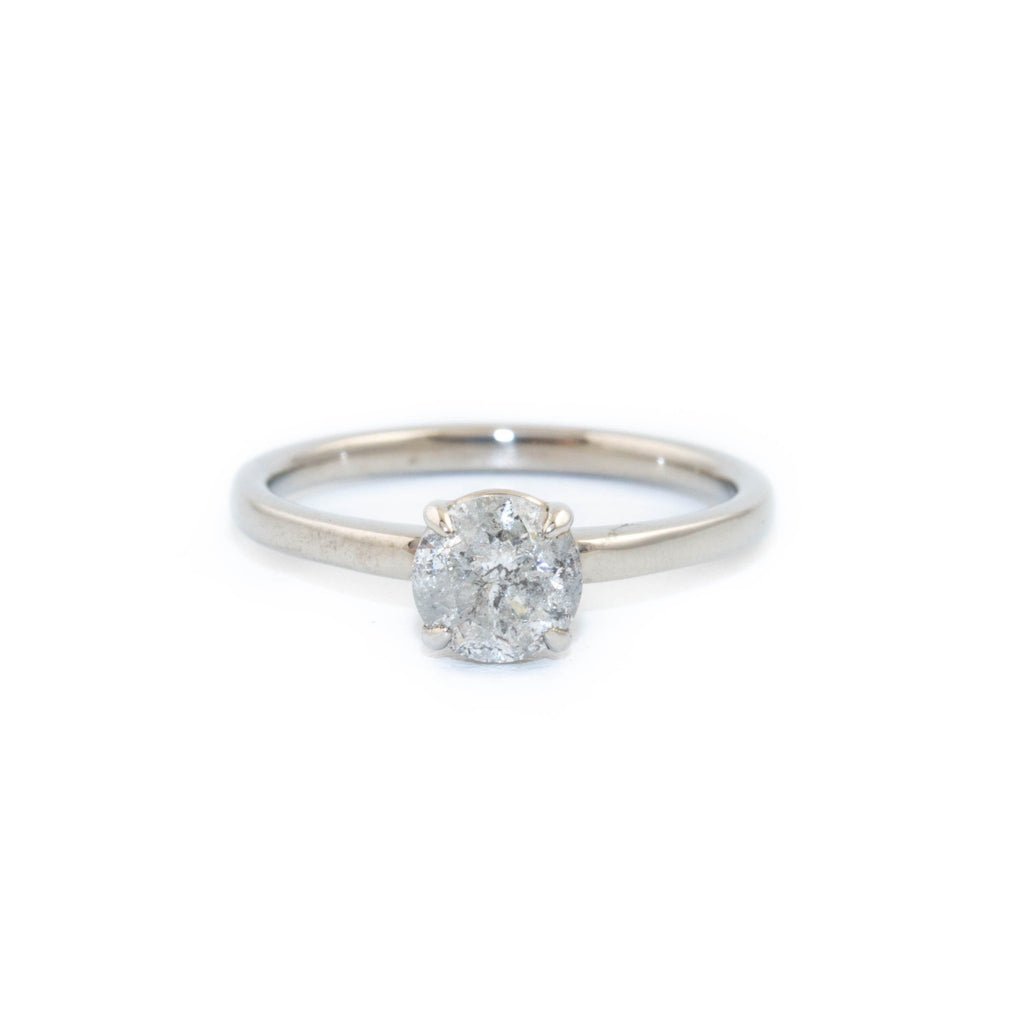 White Gold Diamond Engagement - Kingdom Jewelry