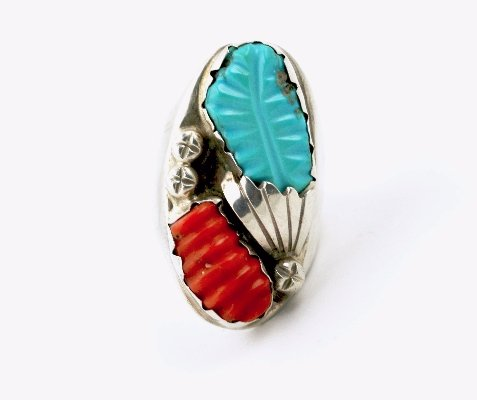 Wicked Leaf Motif Ring - Kingdom Jewelry